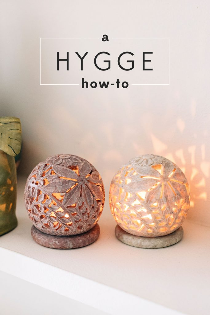 A Hygge How-To | Stone Globe Candleholder