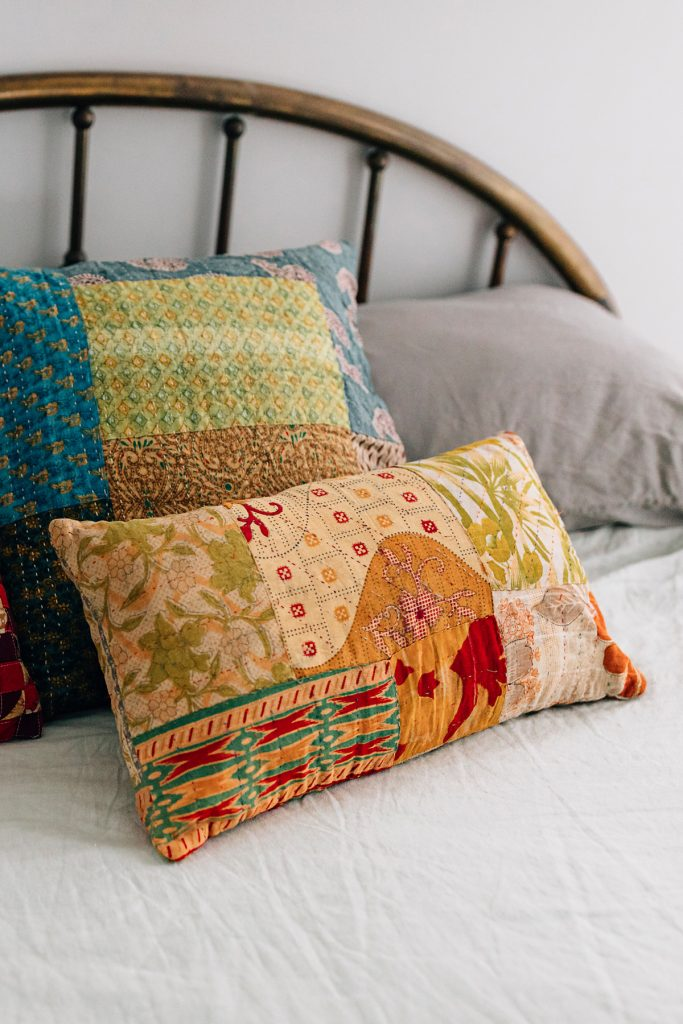 Finding Focus | Sari Motif Cushion