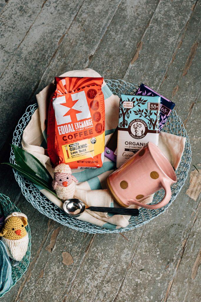 Eco-friendly Easter Basket | Coffee