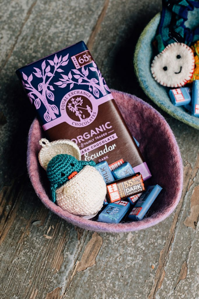 Eco-friendly Easter Baskets | Crochet Chick