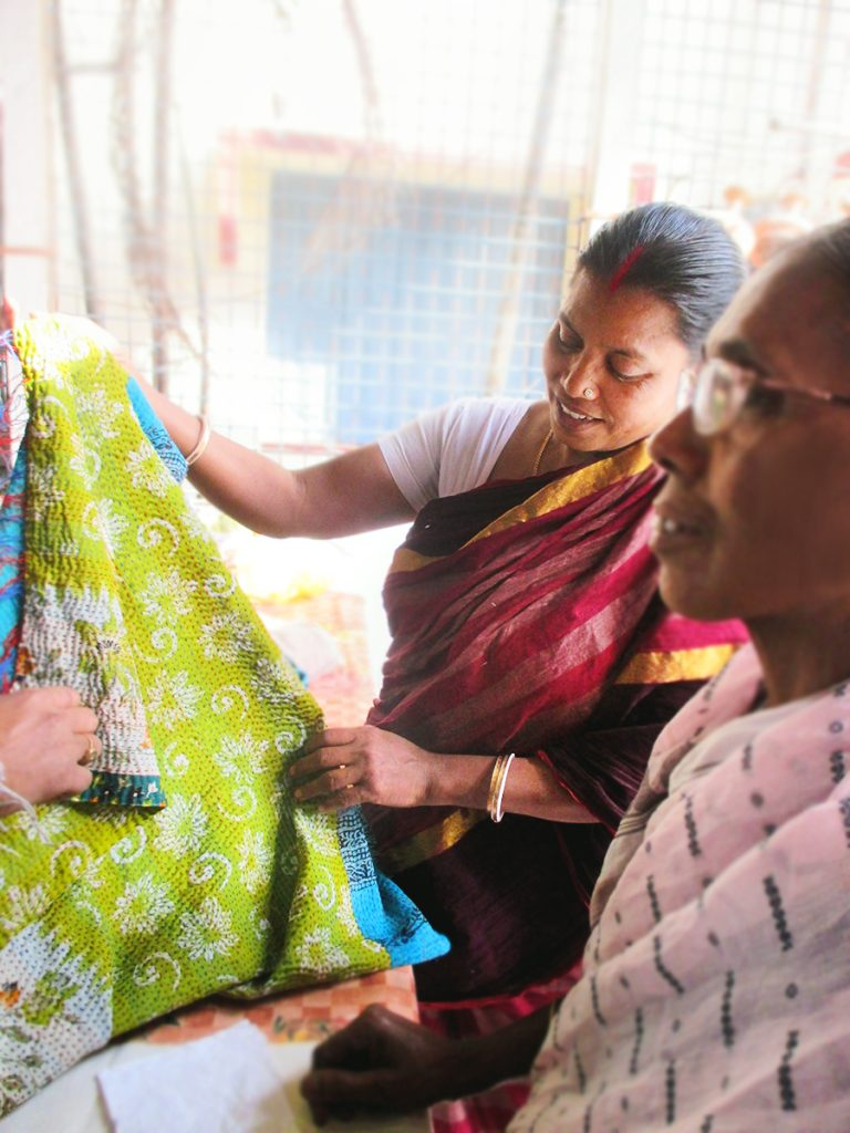 Kantha | Artisans working with Sasha Exports in India