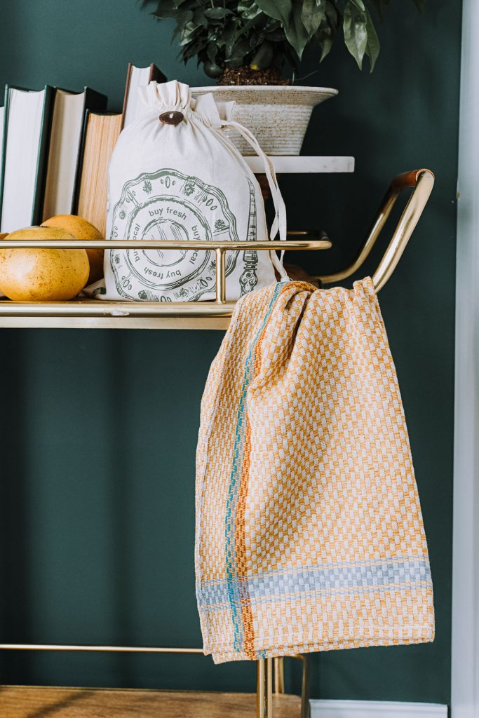 Reduce Waste | Checked Tea Towel