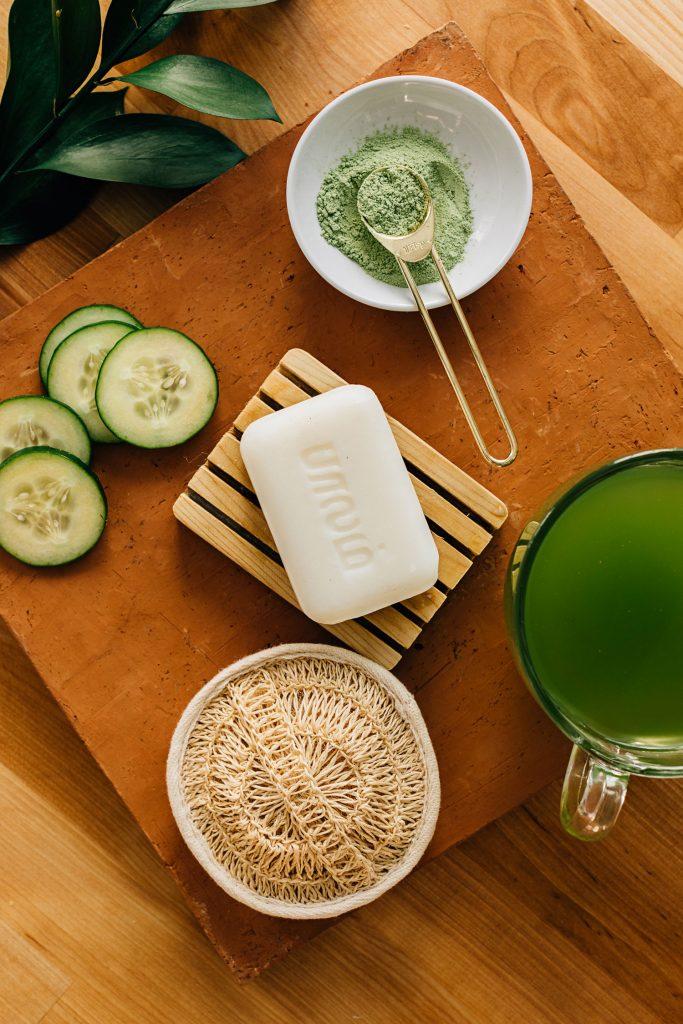 Reduce Waste | Green Tea Soap