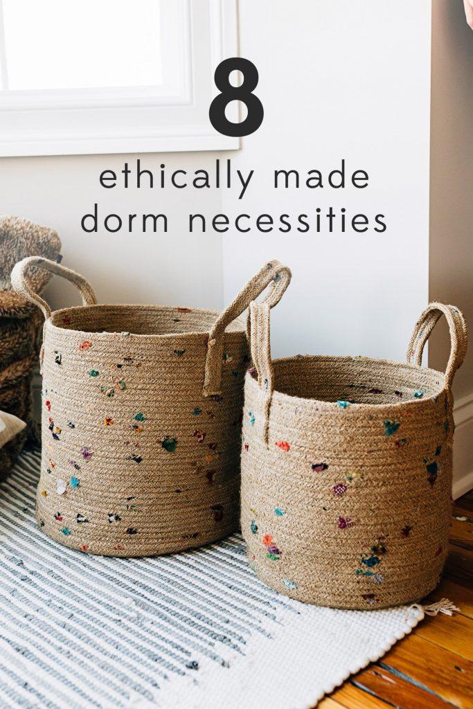 Dorm Decor | Bright Bit Baskets