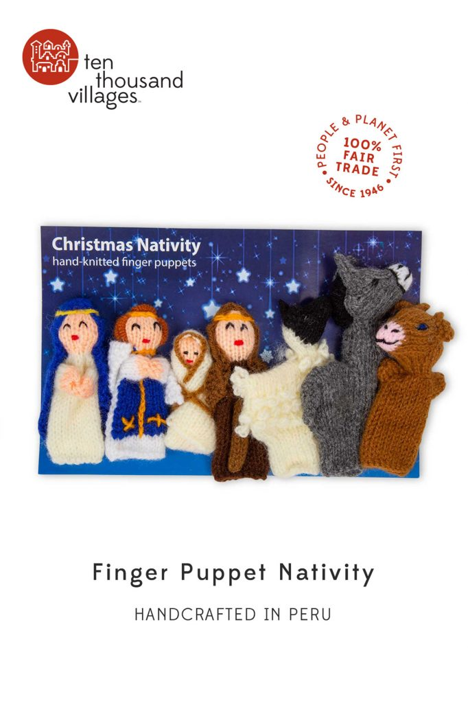 Novel Nativities | Finger Puppet Nativity