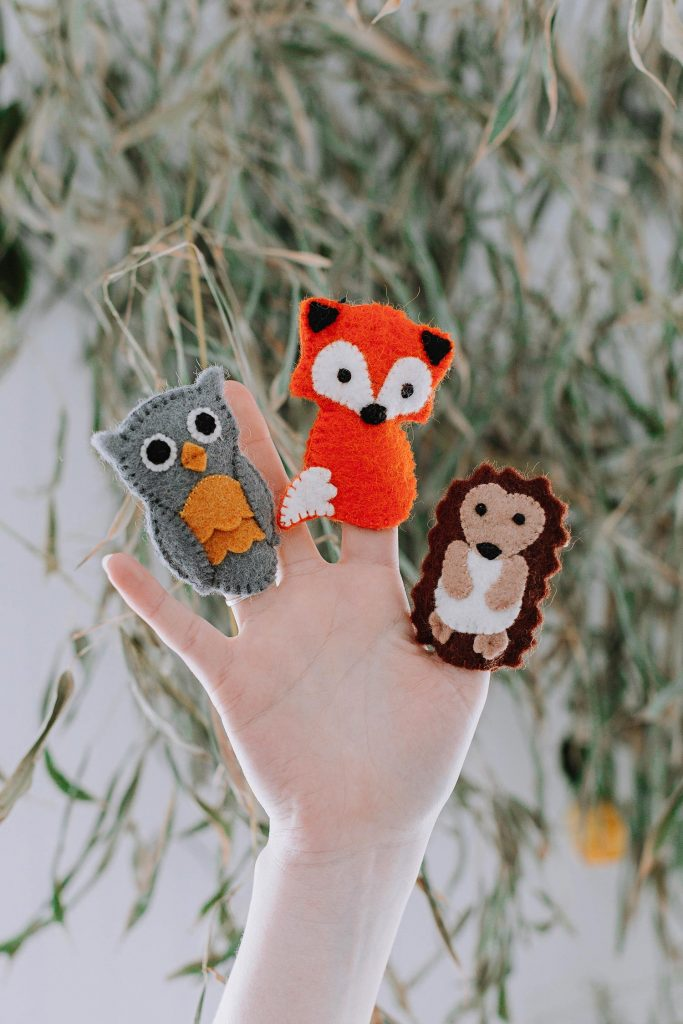 Ethical Baby Gifts | Hand-felted finger puppets