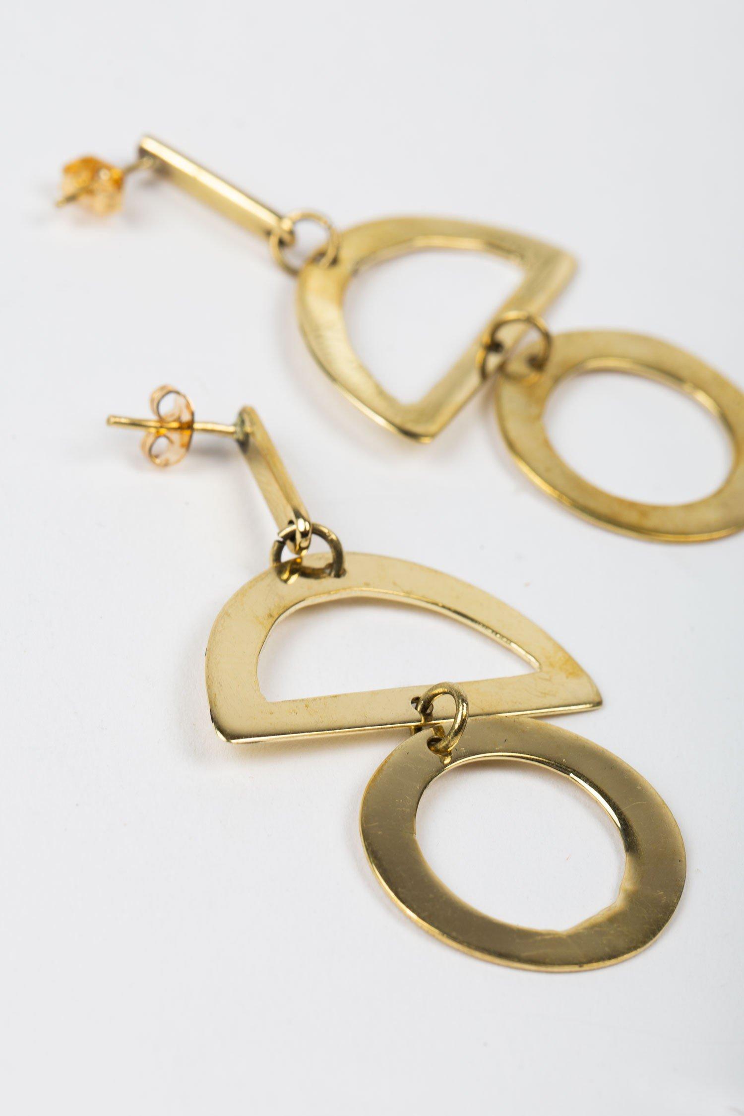 Ethical Earrings   Sculpture Earrings