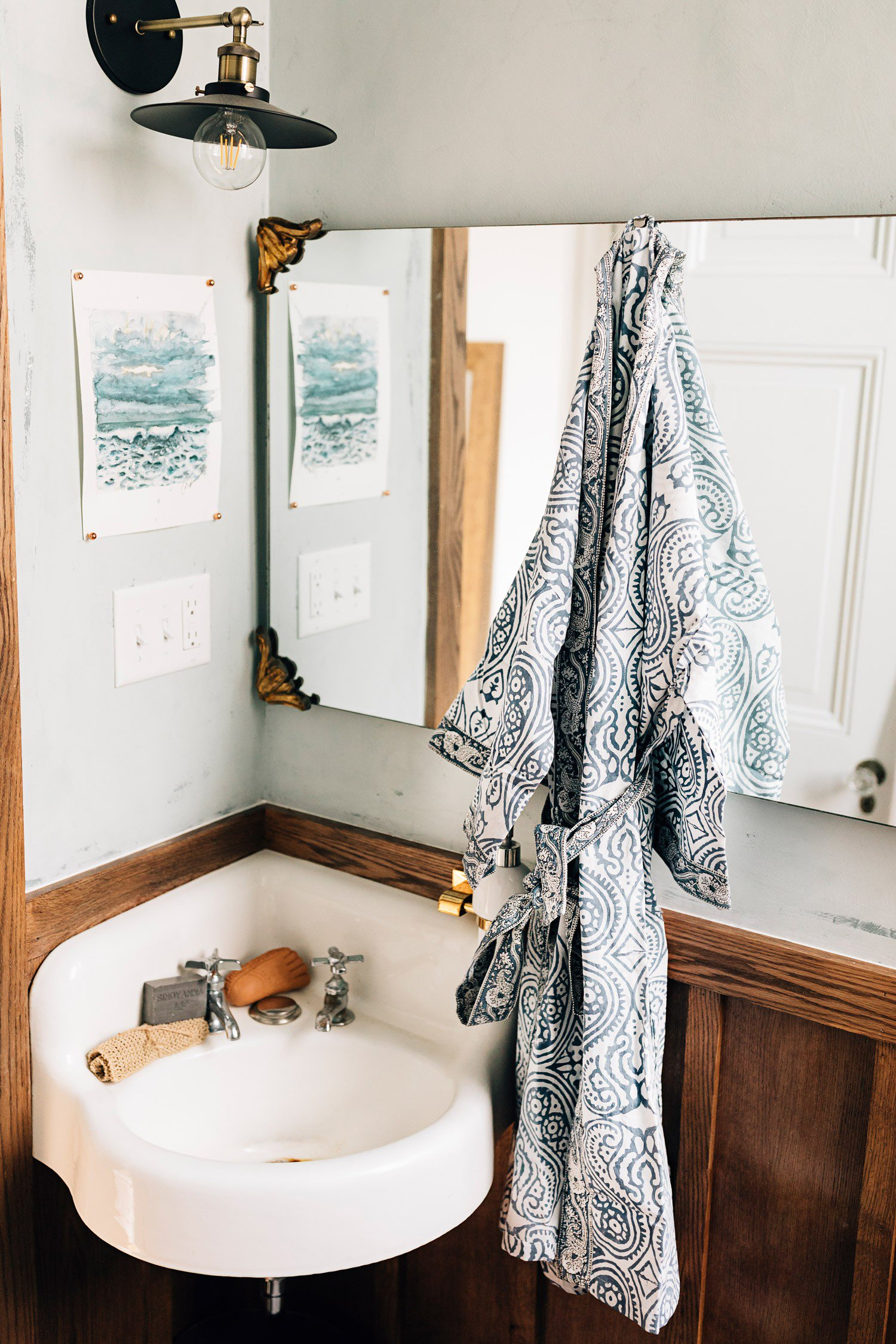 Ethical Gift Guide | Paisley Cotton Robe