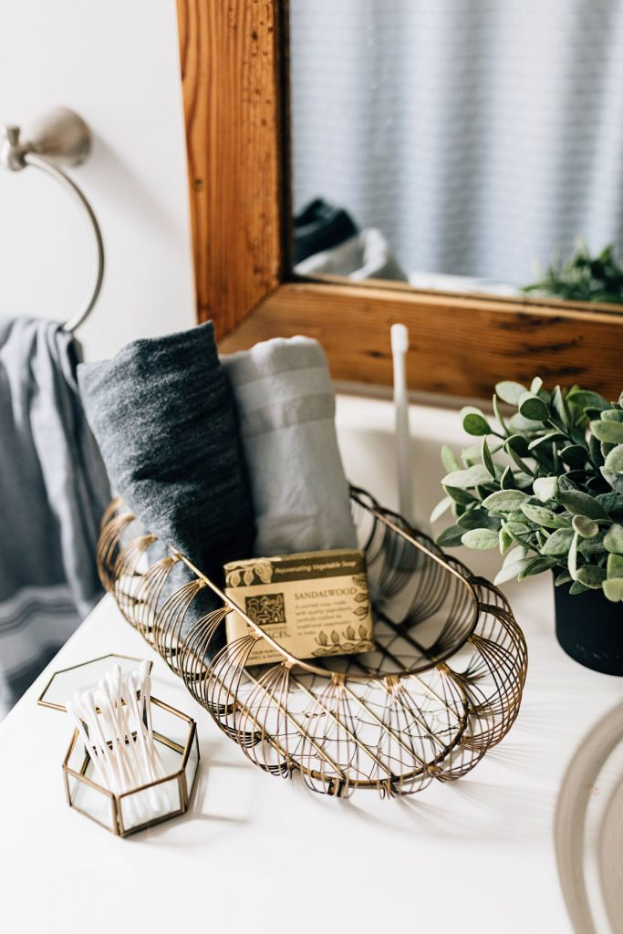Organize with fair trade baskets | Delicate Lines Basket