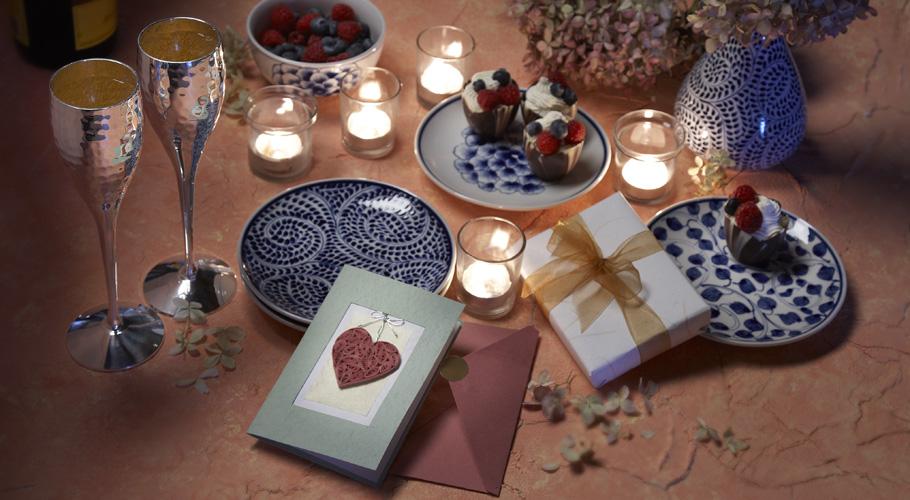 Romantic Tabletop Valentine's Day Ideas