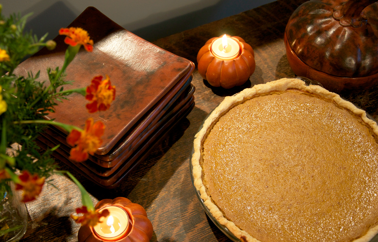 Homemade Pumpkin Pie - Ten Thousand Villages - Mosaic Blog